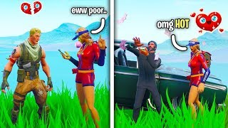 Fortnite Gold Digger Test On Random Duos...