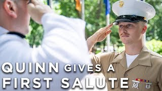 Vlog #14 | Quinn Gives a First Salute