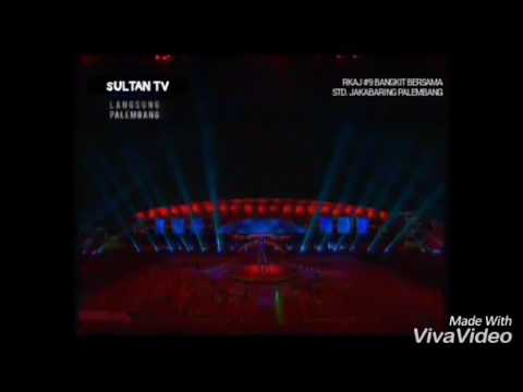 Ya Saman By. Armada dan Laskar Pelangi By  Afgan (Clossing Ceremony SEA GAMES 2011 INDO
