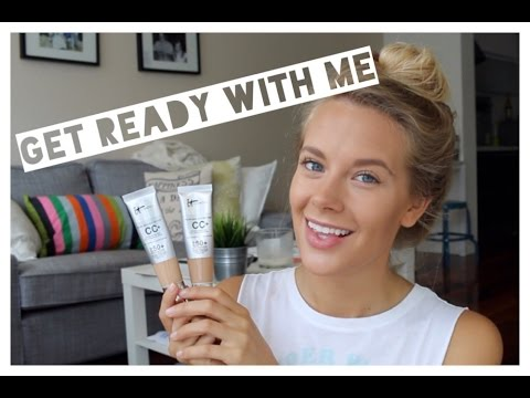 Get Ready with me: It cosmetics CC cream