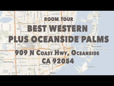 K Around The World - ROOM TOUR - BEST WESTERN PLUS OCEANSIDE Fort Lauderdale