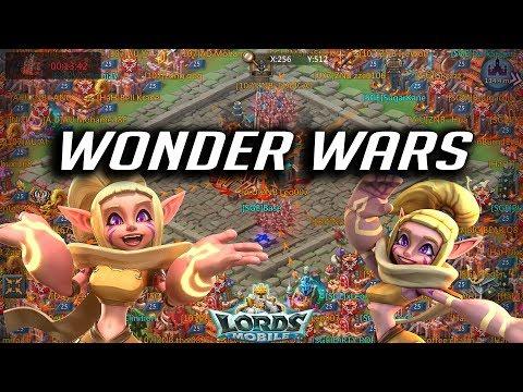 Kingdom 450 Wonder War SGE & Hah Vs A.U 107 CG9 - Lords Mobile