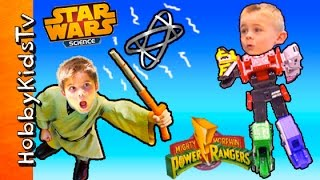 Power Ranger Mega Zord and Star Wars Force