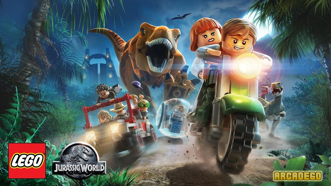 lego jurassic world jurassic park all cutscenes full movie youtube. Black Bedroom Furniture Sets. Home Design Ideas