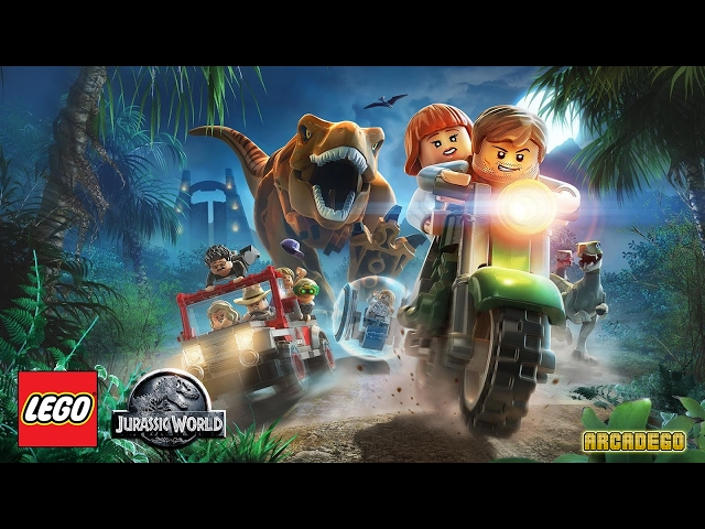LEGO Jurassic World & Jurassic Park All Cutscenes Full Movie