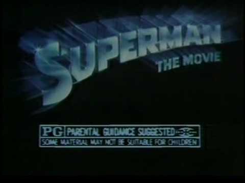 Superman - The Movie 1978 TV trailer