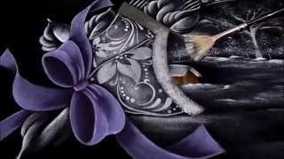 Eliana Rolim – Pintura em tecido preto
