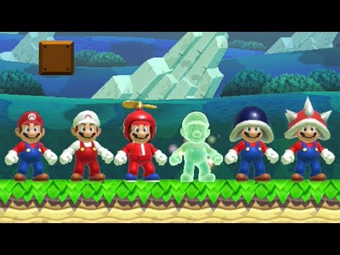 Super Mario Maker - All Power-Ups