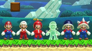 Super Mario Maker - All Power-Ups