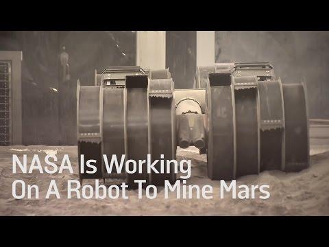 Resultado de imagen de Proyecto RASSOR mineria espacial de la Nasa