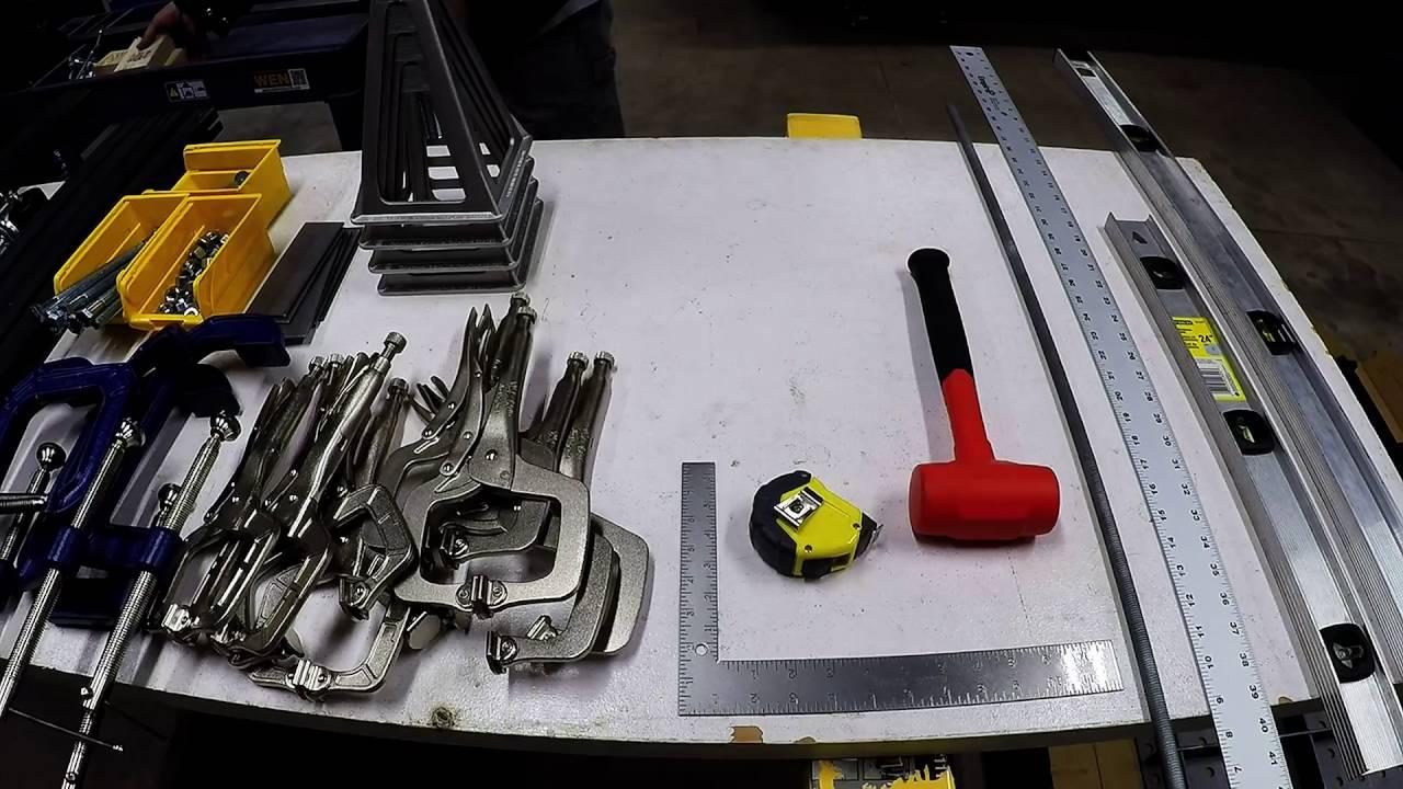 Welding Table Build Certiflat Pro Youtube