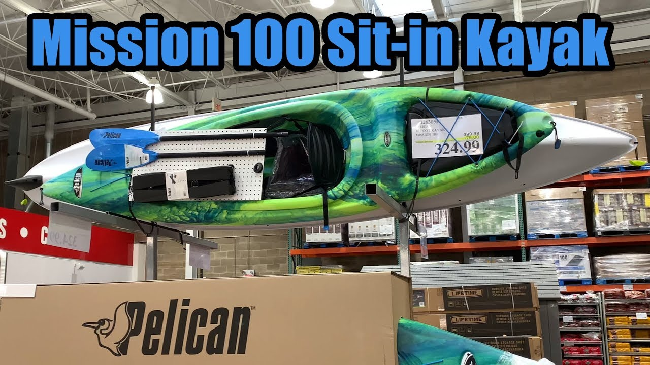 Pelican Mission 100 Sit-in Kayak at Costco