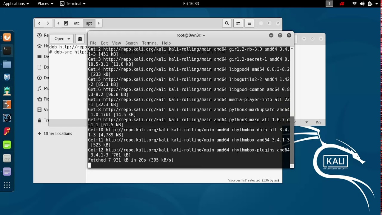 How To Fix Error Unable To Locate Package On Kali Linux 2017 1