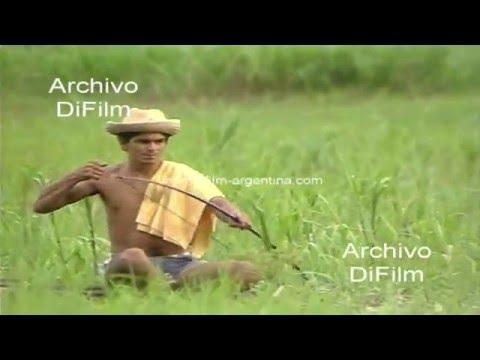 DiFilm - Pescadores de pirañas en el Amazonas - Brasil 1990