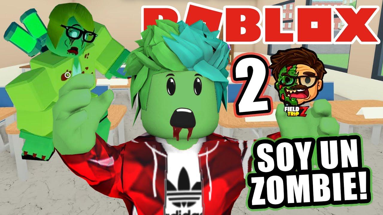 Soy un Zombie en la Escuela   Karim Juega Zombie Roblox Field Trip Z   Juegos Karim Juega
