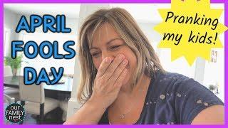 APRIL FOOLS DAY! PRANKING EVERYONE!