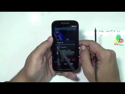 Moto E: Boot Menu, System Recovery, Data Wipe and Factory Reset