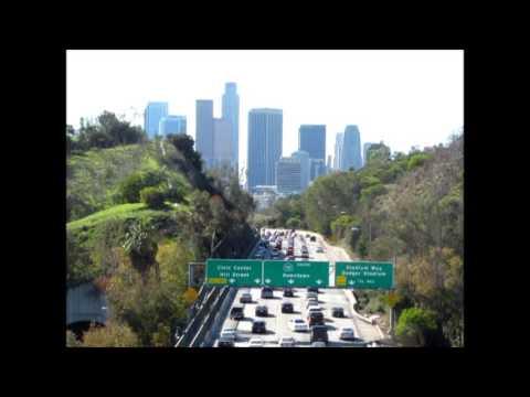 Los Angeles cityscapes (Park Row Bridge) - December 15, 2012