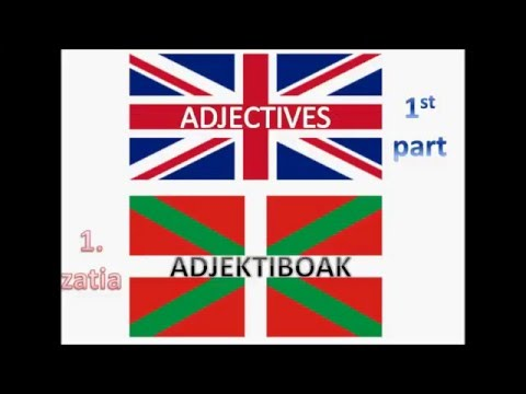 Learn Basque - Learn Languages - Grammar and Vocabulary