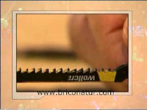 Herramientas de mano: Tipos de hojas para sierra caladora
