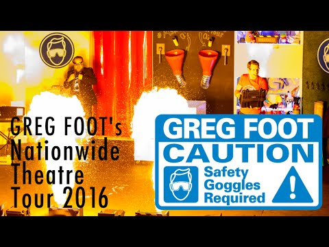 Greg Foot's UK Theatre Tour Of Curious Questions