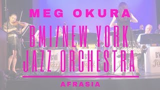 BMI New York Jazz Orchestra plays AFRASIA by Meg Okura