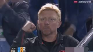 Novak Djokovic vs Roger Federer   Australian Open SF Highlights 2016   YouTube