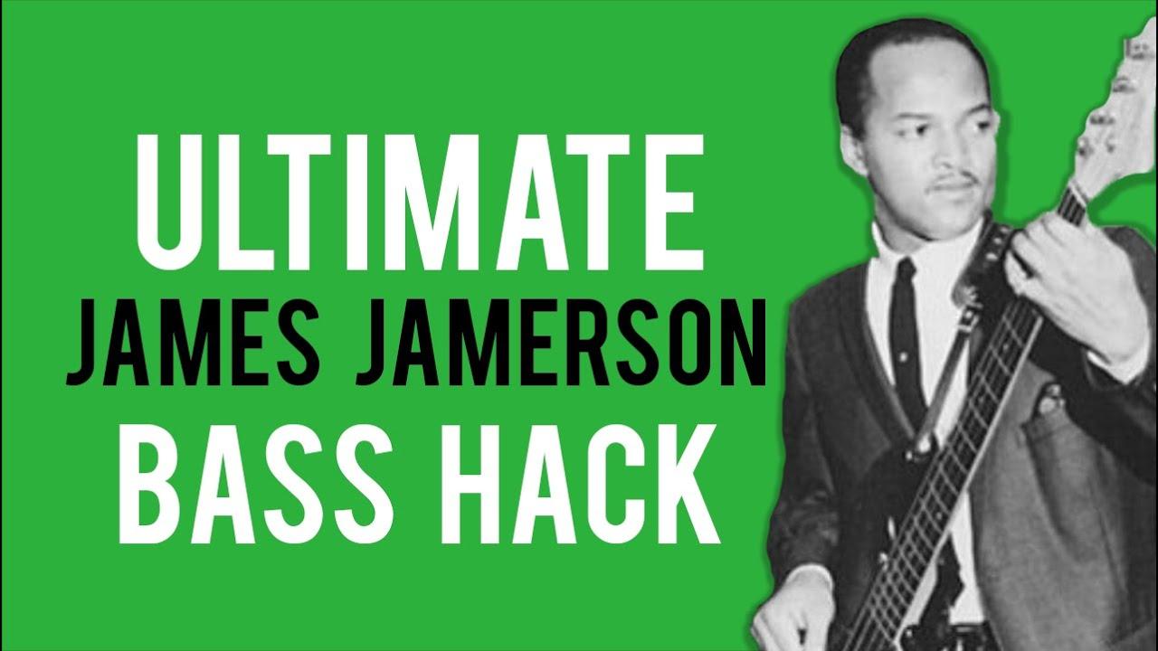 Ultimate James Jamerson Bass Hack
