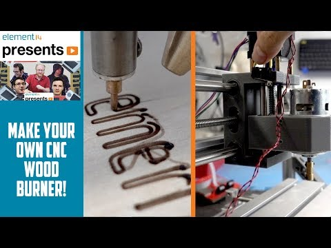 Make Your Own CNC Pyrography Wood Burner
