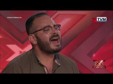 X Factor Malta - Auditions - Day 4 - Josef Tabone