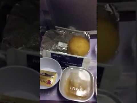 Food in Thaiairways International Flight