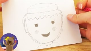 Playmobil Drawing - How To Draw Classic Playmobil Head