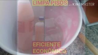 LIMPA PISOS POTENTE E ECONÔMICO
