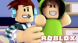 ROBLOX-ADOTEI a BABY!!