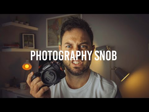 How to Tell if You're Becoming a Photography Snob