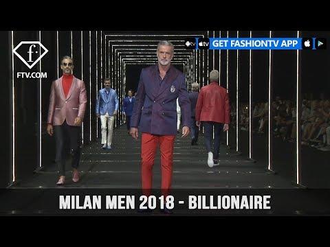 Milan Men Spring/Summer 2018 - Billionaire | FashionTV