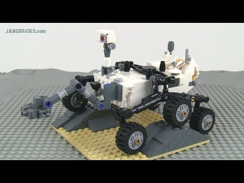 Lego Cuusoo Mars Curiosity Rover 21104 Set Review Youtube