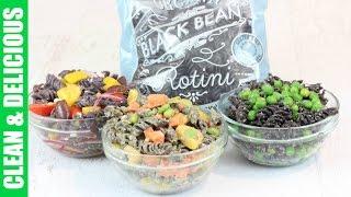 3 Healthy Pasta Recipes - Trader Joe's Black Bean Rotini