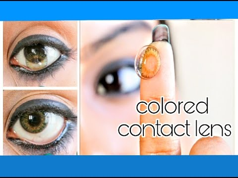 How to: Wear | Remove | clean | Buy colored contact lenses | Ishita Chanda