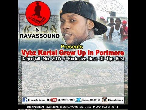 ♫Vybz Kartel ║Grow Up In Portmore Dancehall Mix 2016║@Dj Jungle Jesus @Ravasound
