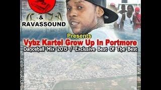 vybz kartel grow up in portmore dancehall mix 2016 dj jungle jesus ravasound
