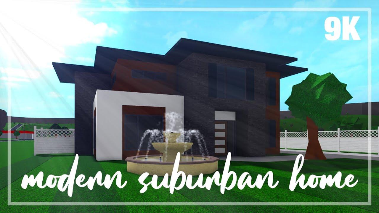 Roblox Bloxburg 2 Story Modern Suburban House