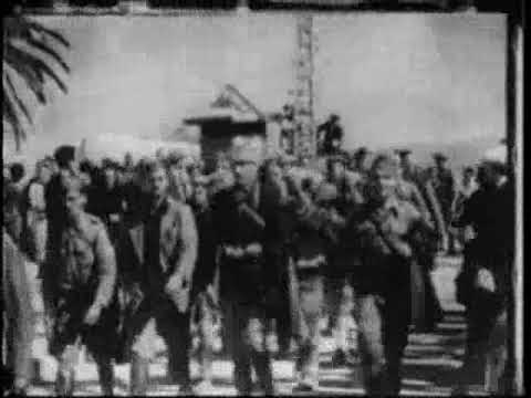GREEK RESISTANCE SONG WITH RARE FOOTAGE