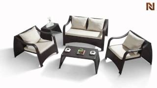 Modern Patio Lounge Chairs And Table VGHT-H28