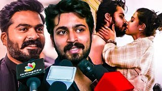 Simbu's Terrific Reaction for my Movie : Harish Kalyan Speech | Ispade Rajavum Idhaya Raniyum
