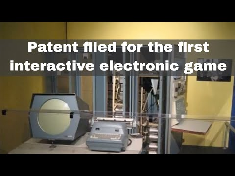 25th January 1947: Patent for the first interactive electronic game filed