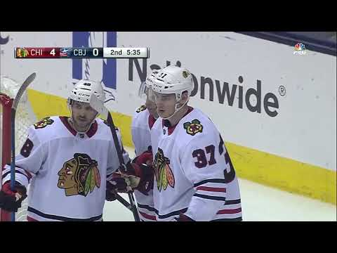 Chicago Blackhawks vs Columbus Blue Jackets - September 19, 2017 | Game Highlights | NHL 2017/18