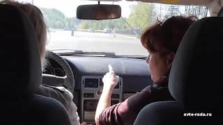 Первые уроки вождения. Учимся поворачивать