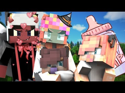 A WITCH KIDNAPS OUR KIDS! | 100 Baby SMP | EP 28 (Minecraft 100 BABY CHALLENGE W/ My Girlfriend)