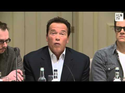 Arnold Schwarzenegger Interview - Advice For Success - The Last Stand Premiere Press Conference